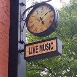 raven brewing bbq live music sign
