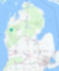 state of michiga map with iron