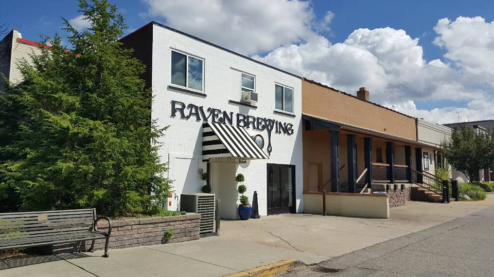raven brewing big rapids