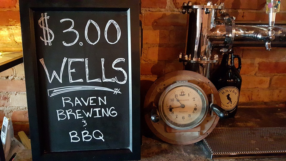 raven brewing bbq photo