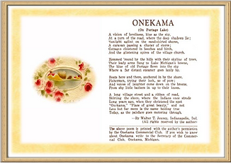 onekama poem