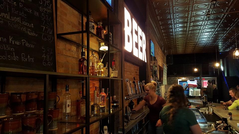 beer sign raven