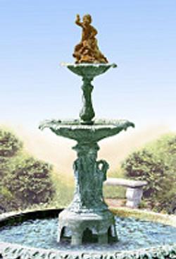 The Memorial Fountain Historical Mar