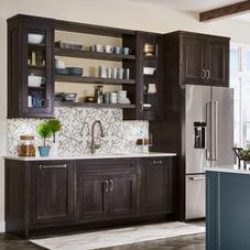 Kitchen - dark wood