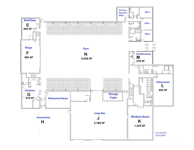 2021 AYP Floor plan for rentals