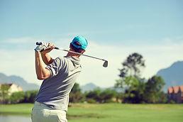 chiropractic patient golfer