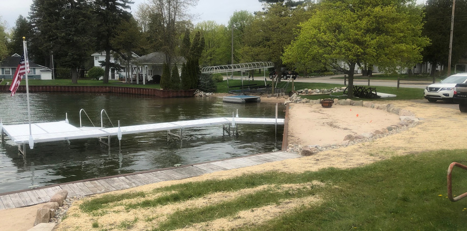 Dock & Beach Front