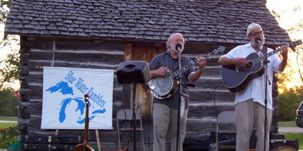 Blue Water Ramblers - Log Cabin Concert