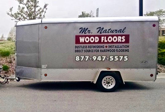 mr natural wood floors trailer