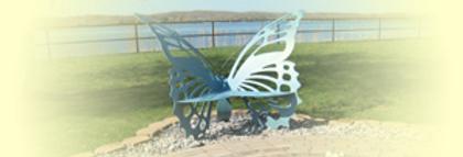 prtage lake garden club butterfly