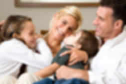 happy chiropractic family