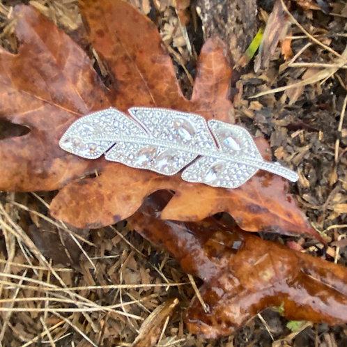 Bling Leaf (Silver)