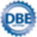 DBE Certificaton Logo