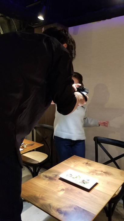 【お店の日常】新メニューの撮影会を開催しました♪