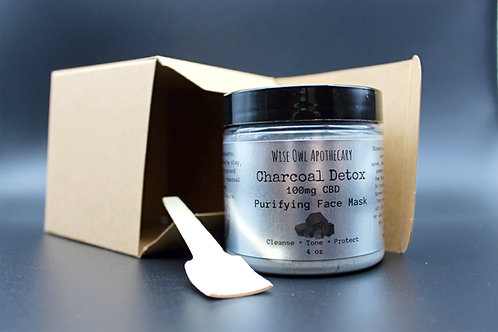Charcoal Detox Powdered Face Mask