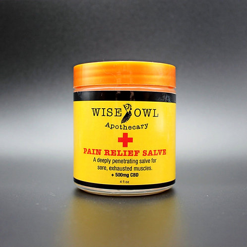 Pain Relief Muscle Salve
