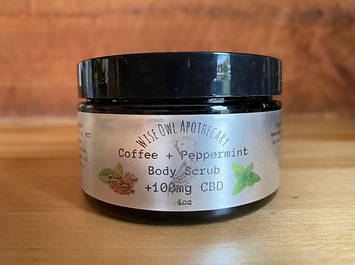 Coffee & Peppermint Body Scrub