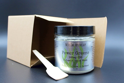 Power Greens Powdered Face Mask