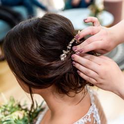 Hairstyling Braut