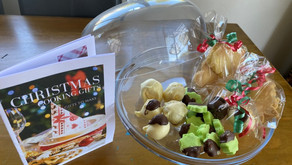Cooking group make Christmas Treat Gifts