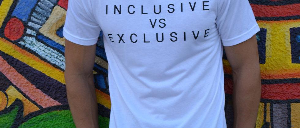Inclusive vs Exclusive