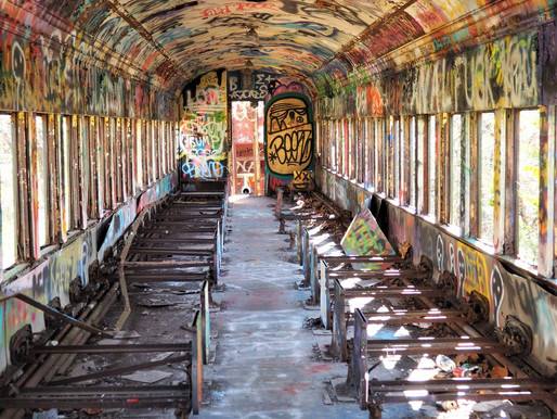 Legend Has It ... Abandoned Rail Cars?
