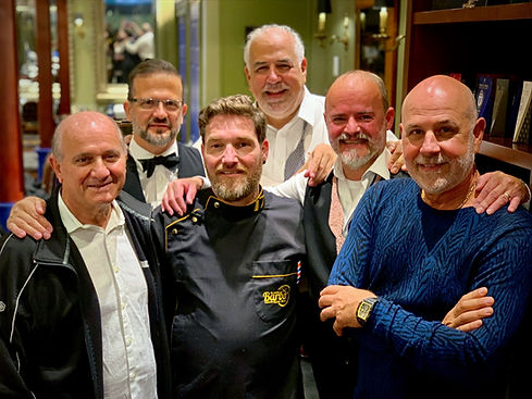 The Global Barber and the Truefitt & Hill Barber Crew
