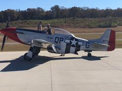This P-51 Mustang Fighter from WW2