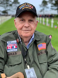 Battle of the Bulge and POW veteran, Geo