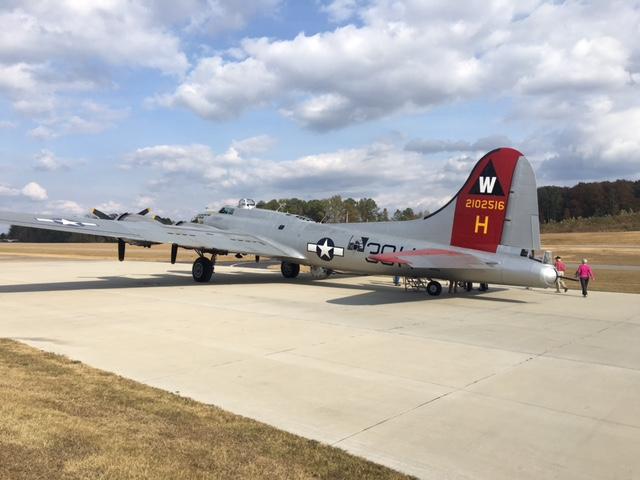 Aluminum Overcast B-17 at Cullman