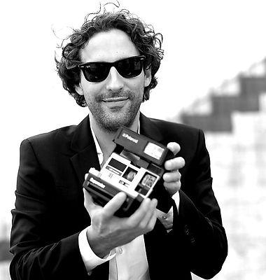photographer, polaroid, voranc vogel
