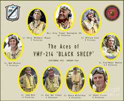 Black Sheep Corsair Pilots