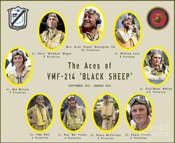 Black Sheep Corsair Pilots