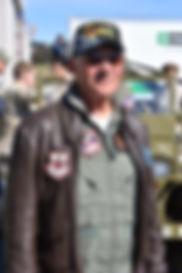 USAF (RET) COL, John Casper, was shot do
