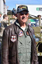 USAF (RET) COL, John Casper, was shot do