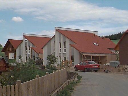 Neubau zwei Doppelhäuser