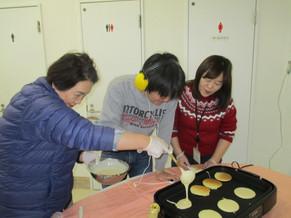 ホットケーキ作り(生活介護)