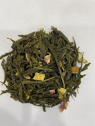 Yuzu mandarine - Thé Vert