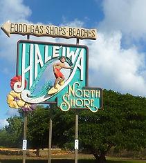 Hale'iwa Haleiwa North Shore Sign