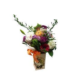 Spring birthday bouquet flower arrangement gift