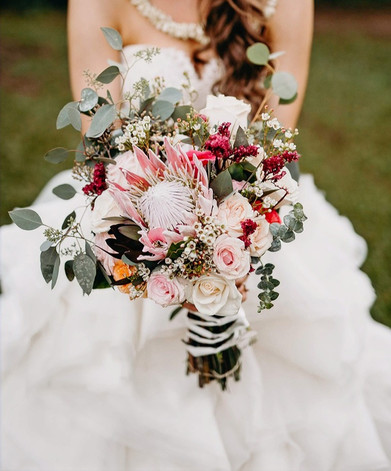 Bridal Bouquet for Waimea Wedding