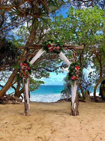 Haleiwa Beach Wedding