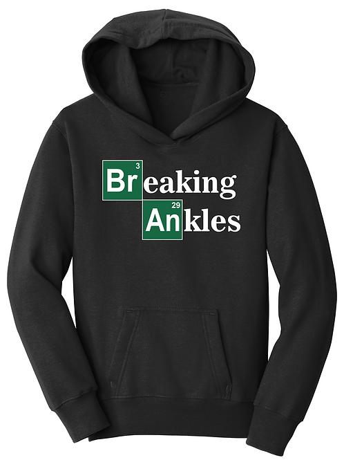 BREAKING ANKLES- YOUTH FALL  HOODIE
