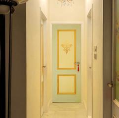Door with Gold Gilded Motif