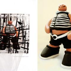M Stripy - Caged