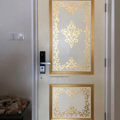 Gold Gilded Door