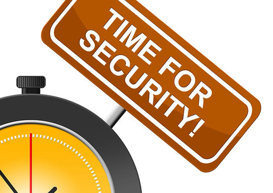 Time for Security Icon