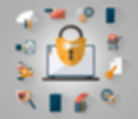Secure Online Icons