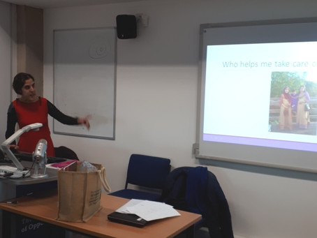 Training for social work students and social workers