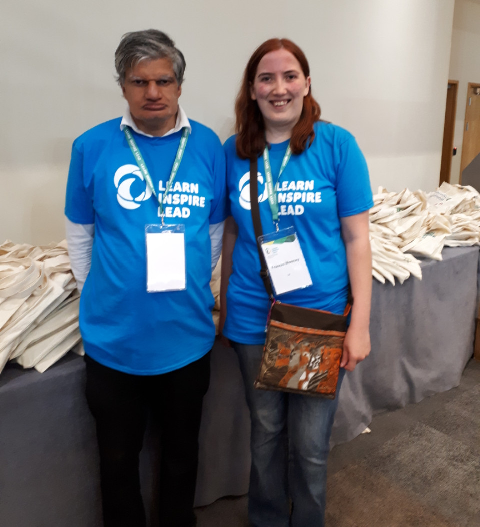Volunteers at the Inclusion International World Congress 2018
